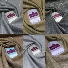 Shimmer Moonlight  Shiny Stretch glitter nylon fabric M1433 Mtex