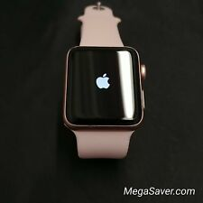W03-Great | Apple Watch Series 3 42mm A1859 Pink GPS Version + Pink Sport Band