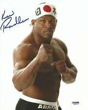Kevin Randleman Signed UFC 8x10 Photo PSA/DNA COA Pride FC Japan 32 25 24 23 22