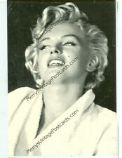 "MARILYN MONROE-IN ROBE AND MAKE UP-(#141)4""X6"" NEW"