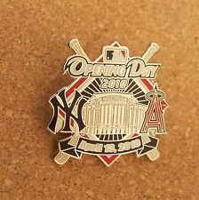 2010 Opening Day NY New York Yankees Los Angeles Angels of Anaheim lapel pin