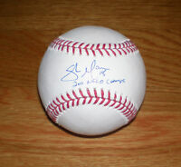 BREWERS Shaun Marcum signed MLB baseball AUTO w/ 2011 NLCD CHAMPS Autographed