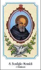 SANTINO HOLY CARD SAN BONFIGLIO MONALDI