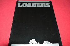 New Holland L-250 L-450 L-550 L-780 Skid Steer Dealer's Brochure LCOH