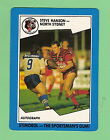 1989 NORTH SYDNEY BEARS STIMOROL RUGBY LEAGUE CARD #87 STEVE HANSON