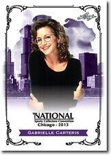 GABRIELLE CARTERIS.- TV Actress Beverly Hills 90210 - 2013 Leaf PROMO Card