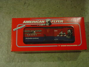 American Flyer  Crossing Gate Boxcar  Original Box,  6-48484