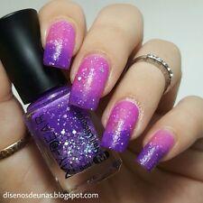 6ml Thermal Color Changing Varnish Peel Off Manicure Nail Art Polish Purple DIY