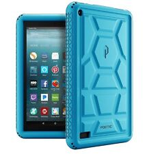 Poetic® For Amazon Fire 7 Purple Soft Silicone Shockproof Cover Case