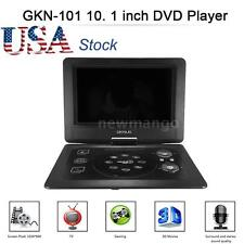 10.1 inch Portable DVD Player Swivel TFT Screen 3D TV, Radio, Game SD USB AV CD