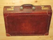 Bridge Genuine Leather - Leder Aktenkoffer 45cm x 11cm x 33cm