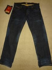 PRPS RAMBLER Selvedge Mens Creased Jeans 36 / Fits only 35 or 34 x 34 Orig.$250+