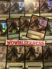 🔥  World of Warcraft - RED TABARD OF FLAME - WoW TCG LOOT Landro Longshot -READ