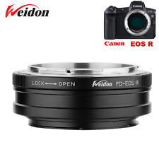 Weidon adapter for Canon FD lens to Canon EOS R RF mount camera
