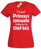 PRINCESS CONSUELA T-Shirt Womens funny friends top phoebe quote gift