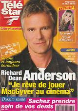 Télé Star N°1232 - 08/05/2000 - Richard Anderson- Hélène Rollès - David Duchovny