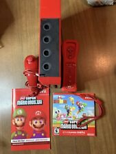 Nintendo Wii Red Console RVL 001 One Game With Motion Plus Controller