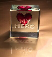Spaceform My Hero Glass Token Romantic Valentines Love Gifts Ideas for him 0952