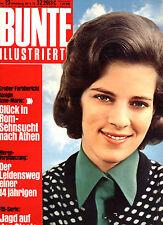 Kult-Zeitschrift BUNTE Nr. 23 v. 1972,  Cover Königin Anne-Marie v. Griechenland