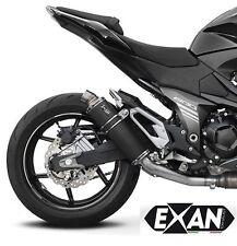 SILENCIEUX EXAN X-GP INOX NOIR KAWASAKI Z800 E 2013/16 - K318ETO-IN