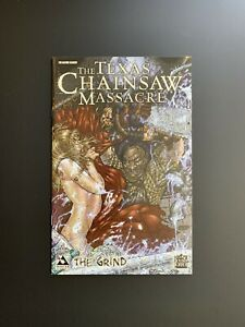 The Texas Chainsaw Massacre The Grind 1 Terror Cover Avatar Comic