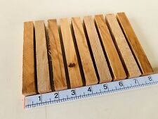 ✅ Premium Wood Pen blanks x9 Beech Woodturning Spindle Blanks Carving