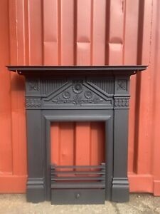 Victorian Cast Iron Fireplace , Fire Surround 🚚 DELIVERY  £35 UK