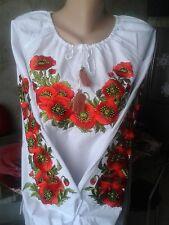 Ukrainian embroidery, embroidered blouse, S - 4XL, Ukraine