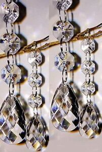 Manzanita Tree Centrepiece Table Decoration Wedding Wishing Crystal 30pc