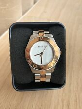 MARC BY MARC JACOBS Two Tone Sliver Rose Gold Ladies Watch