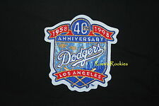 LOS ANGELES DODGERS 40TH ANNIVERSARY PATCH 1958-1998