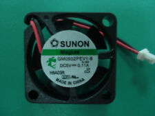 for Sunon 25mm x 10mm MagLev Fan 5V DC 2 Pin Connector Vapo Bearing GM0502PEV1-8
