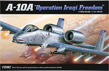 "Academy 1/72 A-10A ""Operation Iraqi Freedom"" Aircraft Plastic Model Kit 12402"