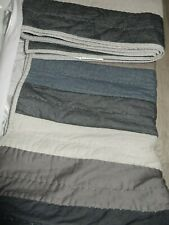 Pottery Barn Teen Good Sport Twin Quilt Multi colors