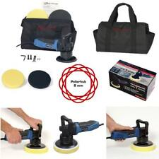 Dino Dual Action Exzenter Poliermaschine Auto Politur Profi Set 2 Pad Tasche Neu