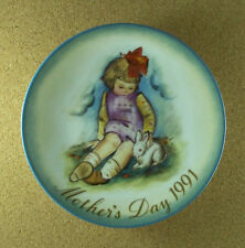 Mother's Day 1991 SOFT AND GENTLE Plate Sister Berta Hummel 20th Final Edition