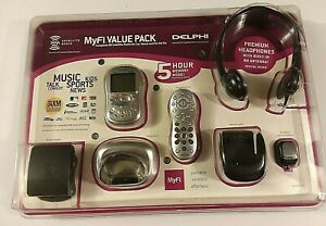Myfi Delphi Value Pack SA10174-11P1 XM Radio On the Go New Sealed