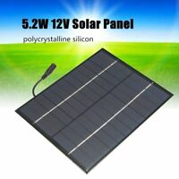 12V 5,2 Watt Mini Solar Panel Polykristalline Solarzellen Silizium Epoxy So W6E7