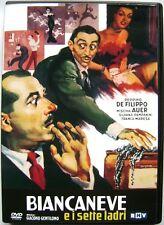 Dvd Biancaneve e i sette ladri con Peppino De Filippo 1949 Usato