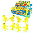 Boys Girls Children's Kids Yellow Stretchy Happy Man Men Party Birthday Fillers