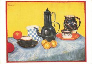 Vintage Art Postcard, The Breakfast Table by Vincent Van Gogh OI9