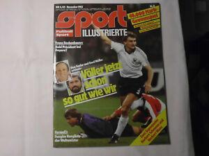 Sport-Illustrierte November 1983