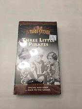 The Three Stooges, THREE LITTLE PIRATES, VHS,Video Tape, Plus 2 Extra Episodes