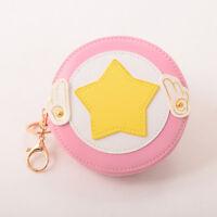 Lolita Girls Pink Wings Coin Bag Star Wings Anime Cardcaptor Sakura Change Purse
