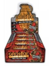 Grenade Killa CARB BARRE Peanut svitato Scatola di 12