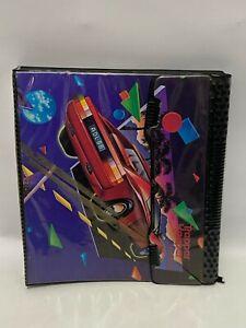 1990s Mead Trapper Keeper Notebook Designer Series Ferrari Red Sports Car
