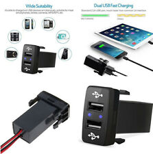 Dual USB Charger Audio Port Interface For Toyota Scion Car 2 Port Phone Charger