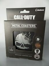 Call of duty pack 4 Metal Coasters dessous de verre Multi-Couleur 9 x 9 cm