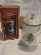 Spode CHRISTMAS TREE Pepper Mill  NEW, Unused NIB