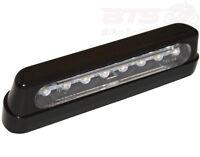 Kennzeichenleuchte SHIN YO LED-Nummernschildbeleuchtung ABS schwarz lang plate